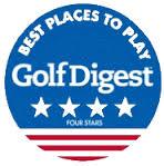 Golf Digest 4 Star Award