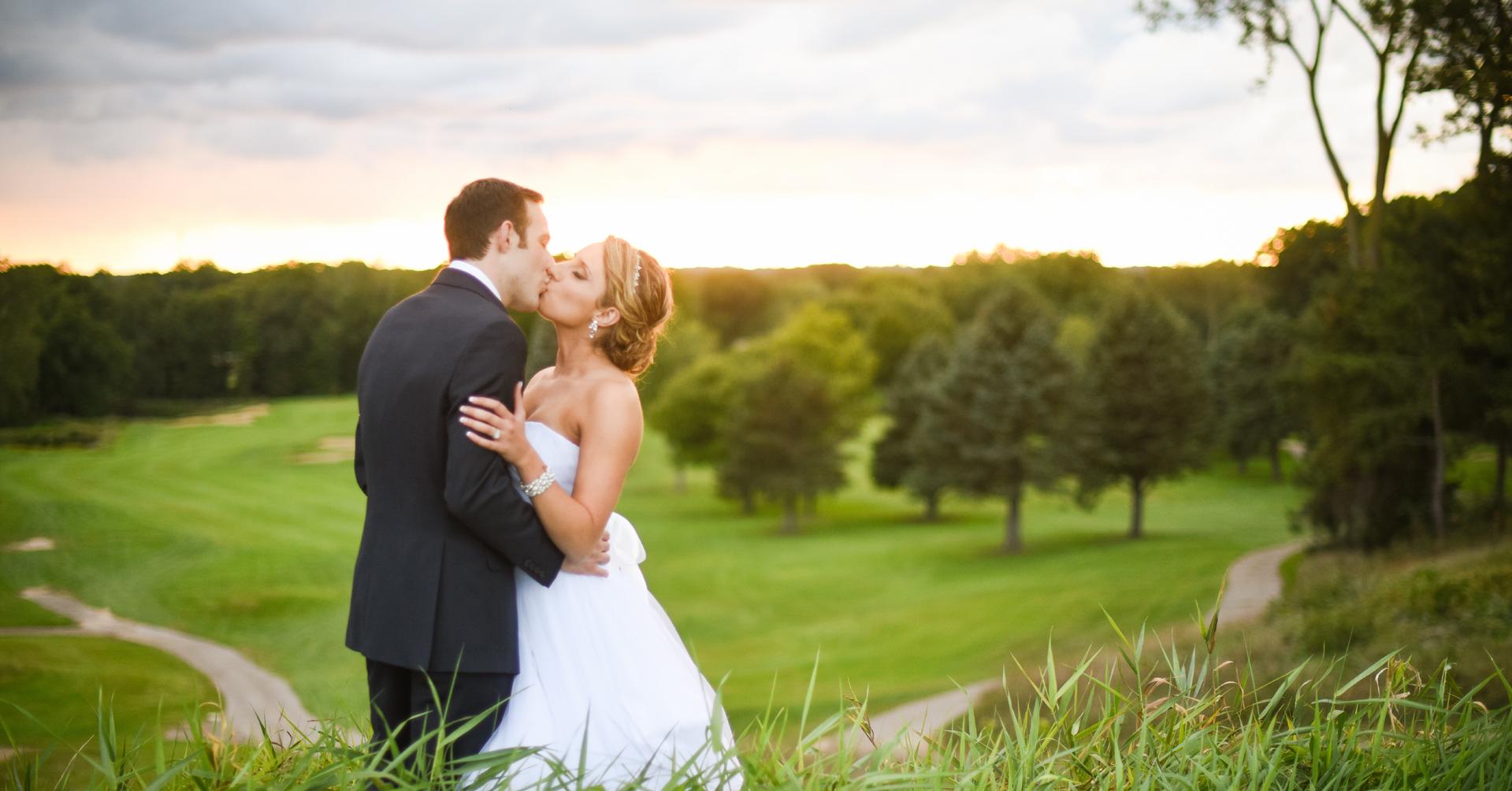 Lake Michigan Hills Golf Club Couple